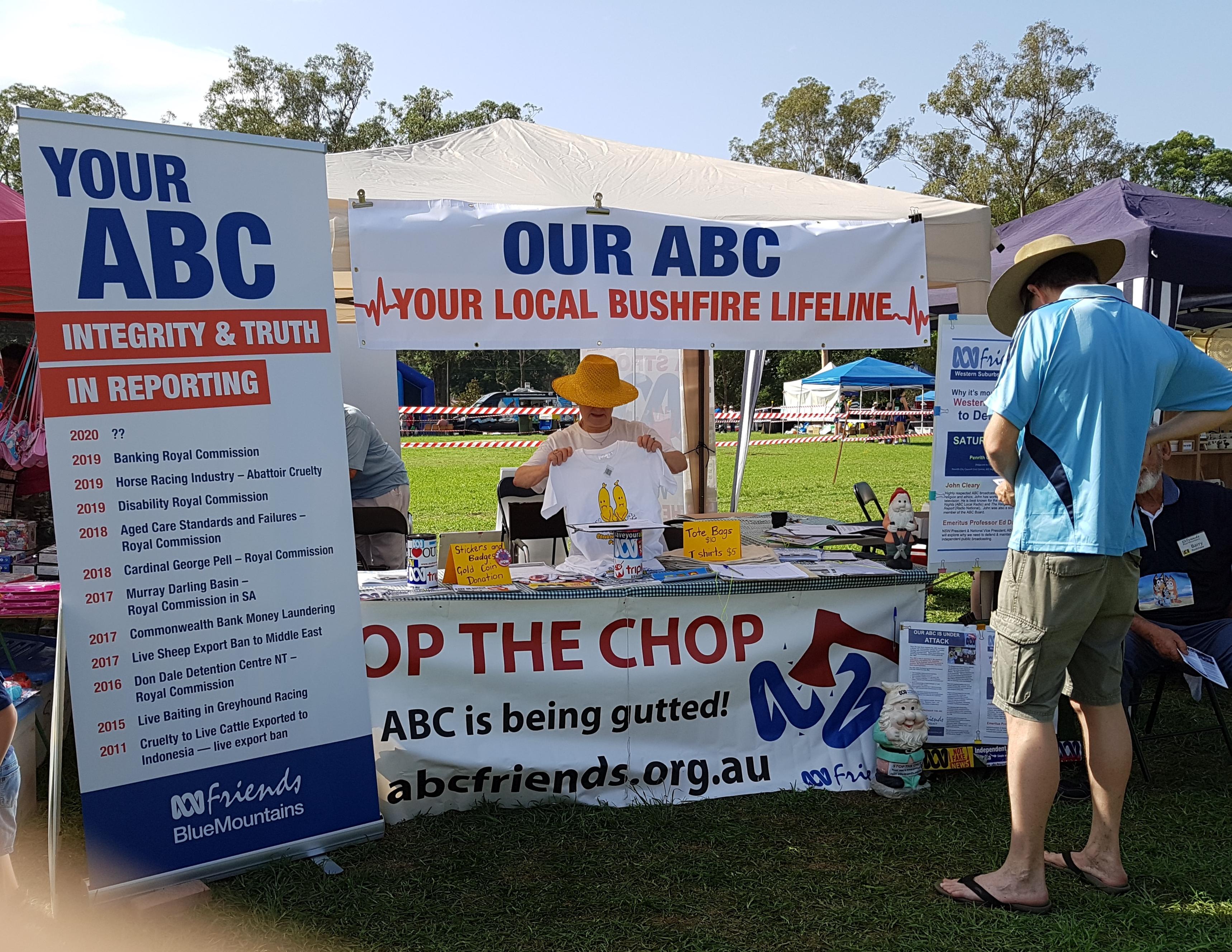 ABCF stall