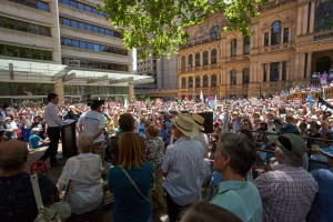 Rally Nov 22 2014 Our Stories. Our Future. Our ABC